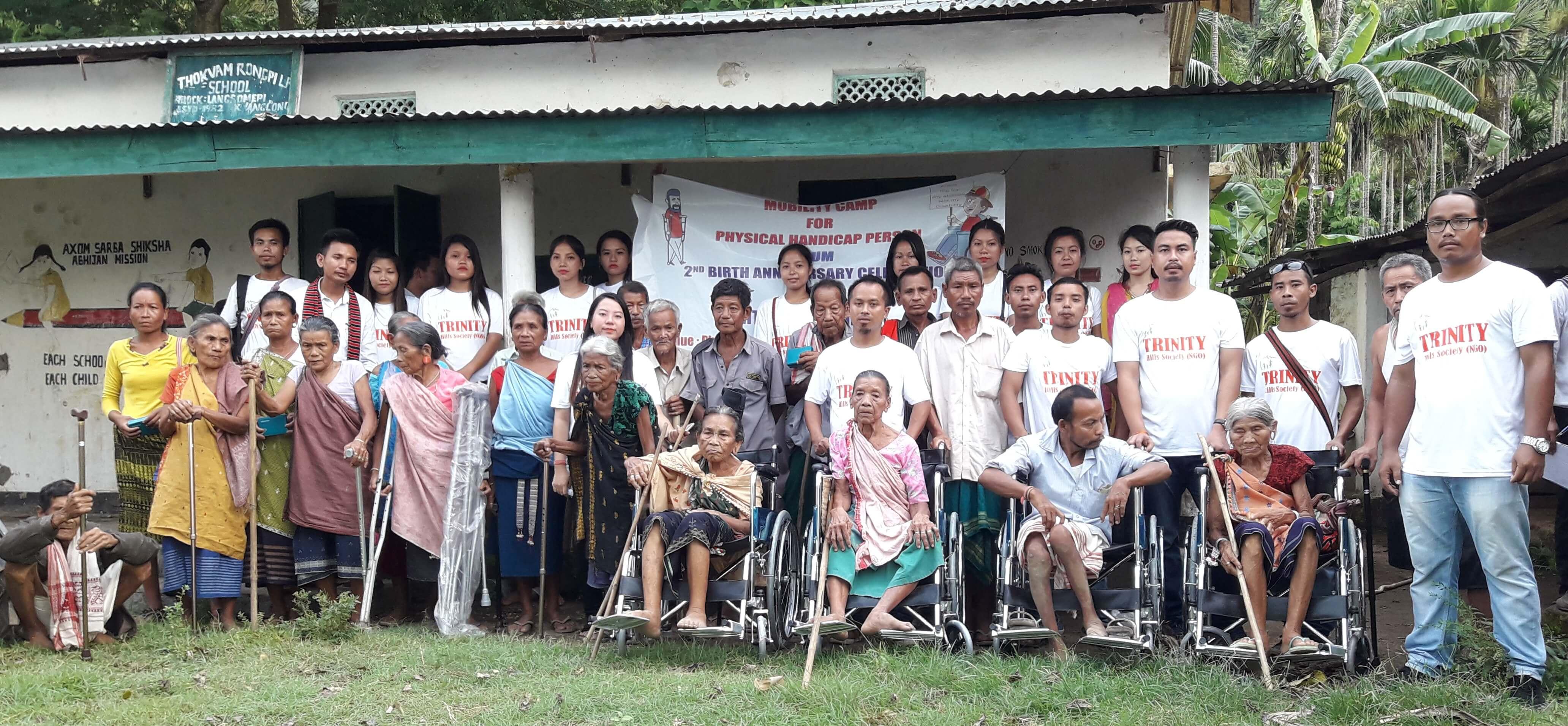 Trinity Hills Society Celebrates Second Foundation Day at Pholoni Thongvam Rongpi LP School on Tuesday