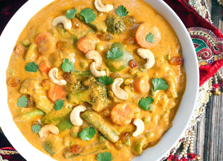 Vegetable Korma (Sabzi Karma)