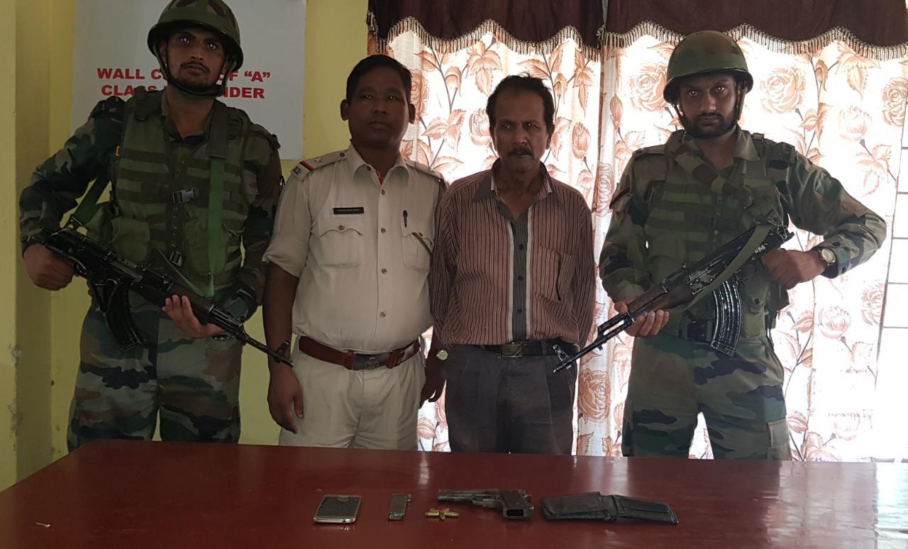 Overground ULFA (I) Member Deben Hazarika Arrested in Army Operation