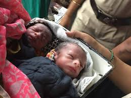Woman delivers twins in train
