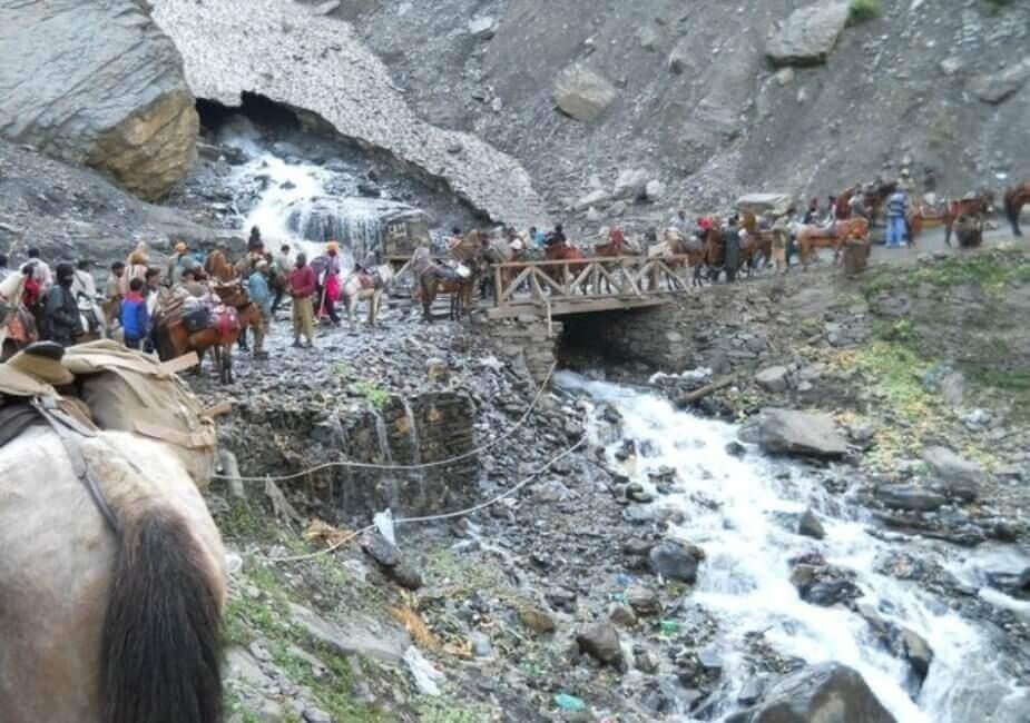 Amarnath  Yatra hampered