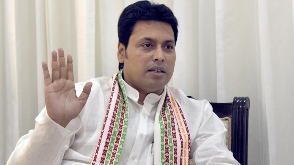 Tripura BJP government Goes For Administrative Rejig