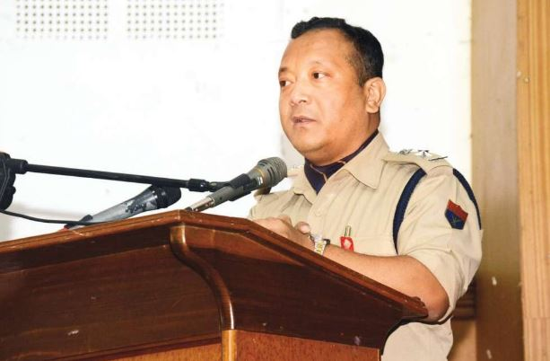 Shillong Superintendent of Police Davis Nestell N Marak requests citizens to maintain order