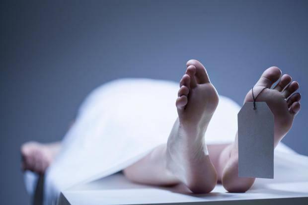 'Burying' husband alive?