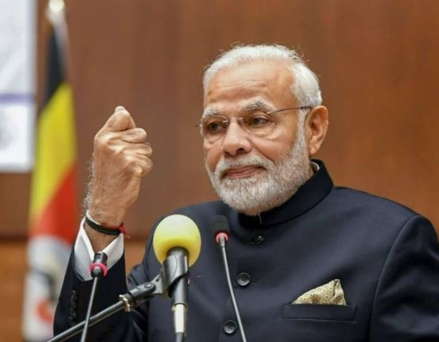 Not afraid of being seen with any industrialist, says PM Narendra Modi