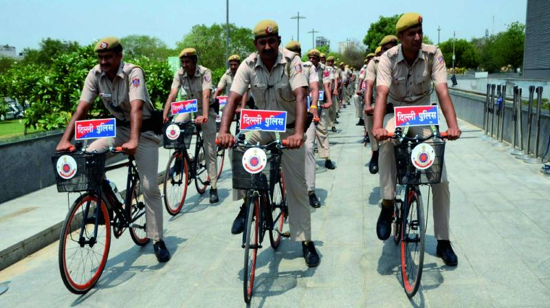 Delhi Police to initiate Bicycle patrols for Parks, Narrow Lanes