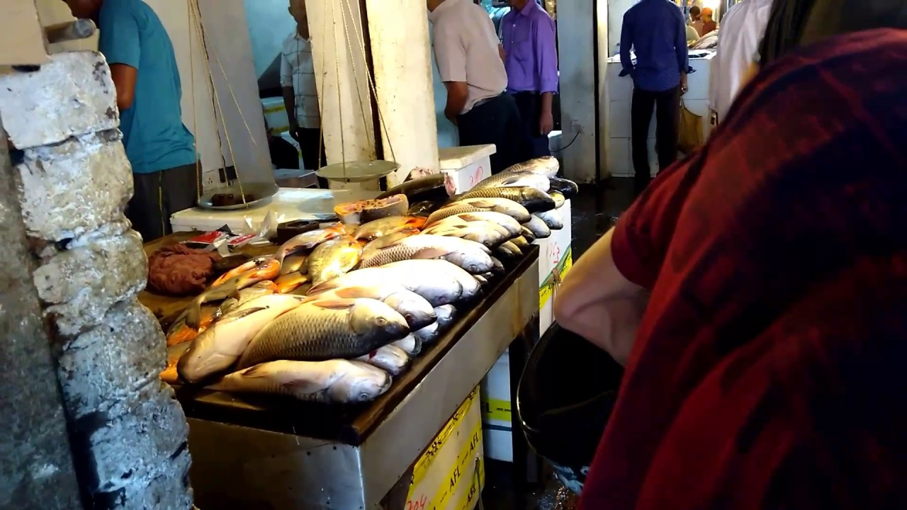 Fish vendors elated