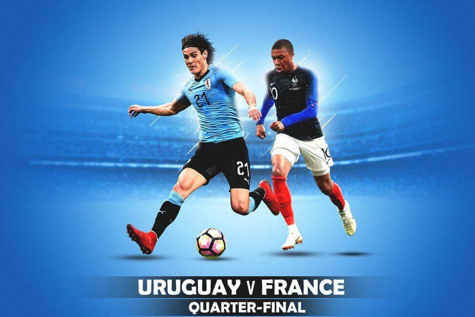 Quarter-final: फ्रांसआ उरुगेखौ 2-0 आ फेजेनो