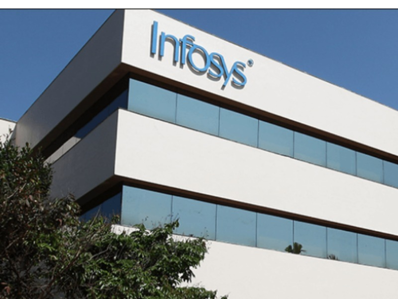 Infosys net up  3.7 per cent in Q1