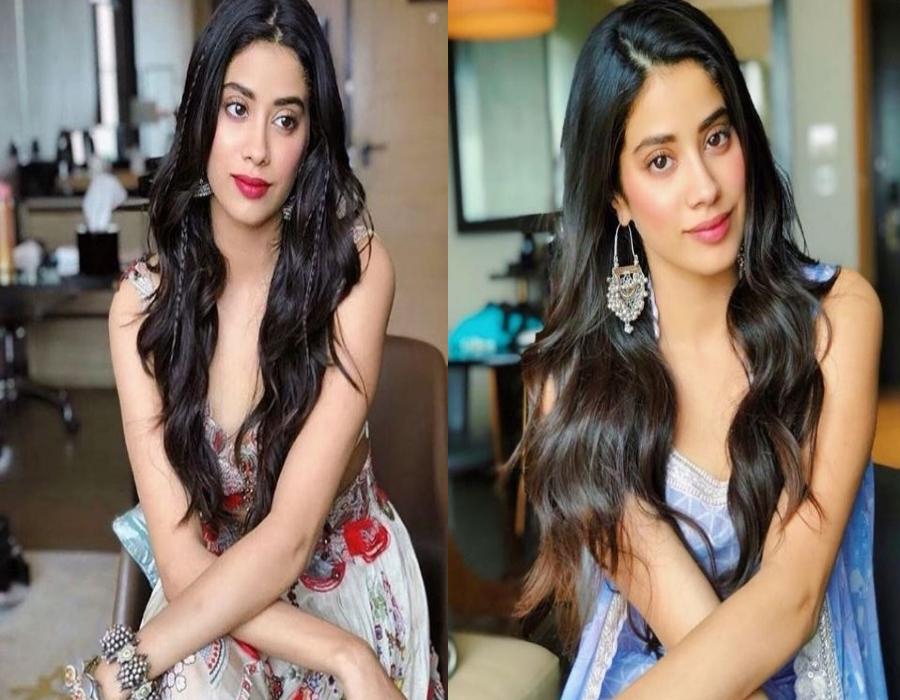 Sundar and Susheel, Two words that describe Janhvi Kapoors style at Dhadak promotions