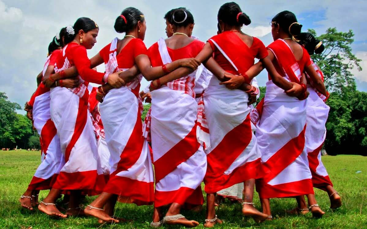 All Assam jhumur dance competition at Demow, Assam