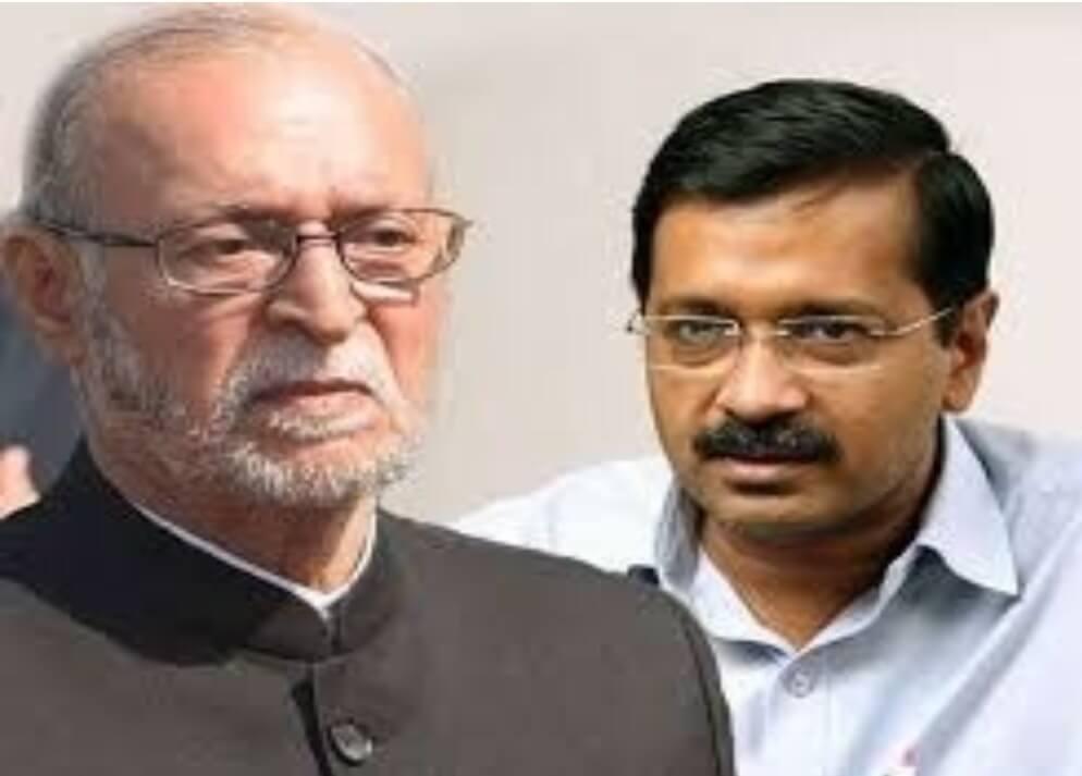 Kejriwal, Baijal spar again