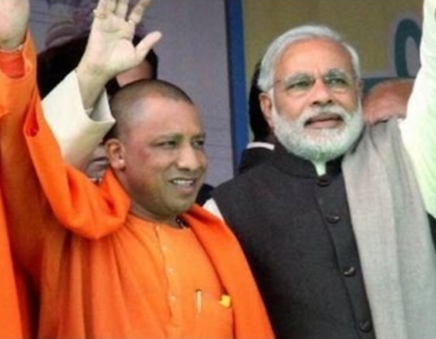 Prime Minister Narendra Modi praises Chief Minister Yogi Adityanath for speedy conversion of intent to investment