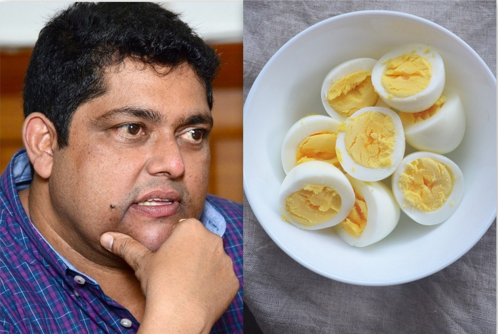 Congress MLA Aleixo Reginaldo alleges  plastic eggs  being Sold in Goa
