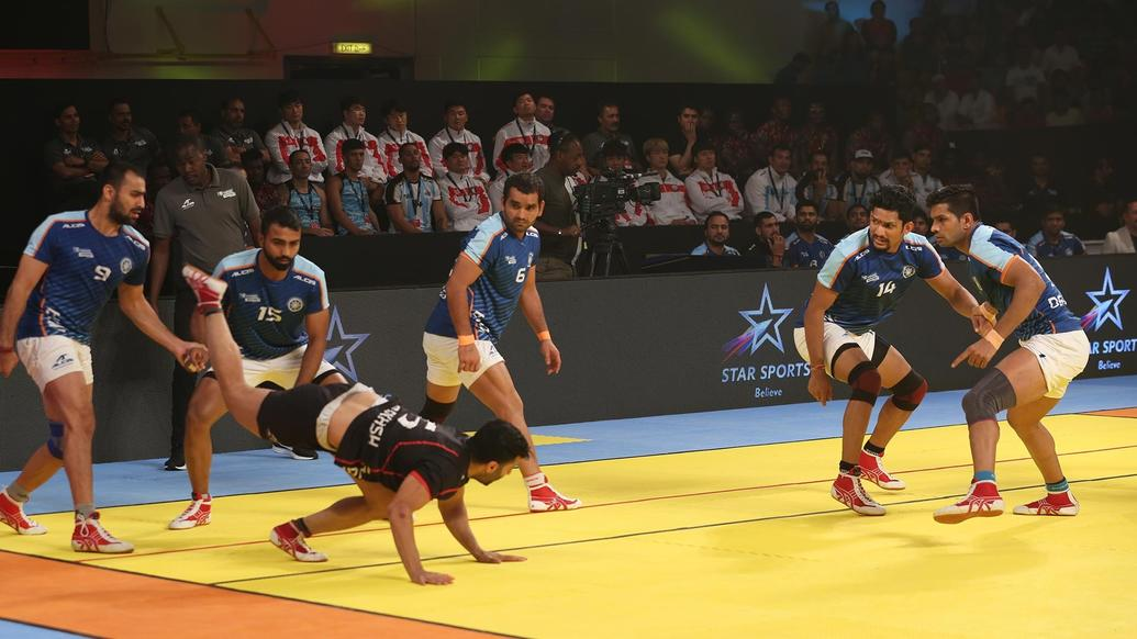 India hammer Iran to lift Kabaddi Masters trophy