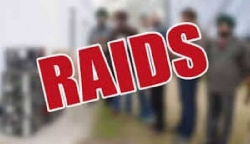 Excise raid conducted at Ramharichar and Joypur under Lakhipur police station