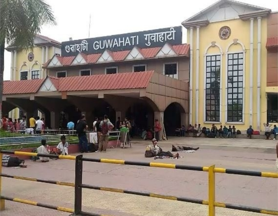 Railway Protection Force (RPF) rescued three Trafficked minors from Guwahati Railway Station
