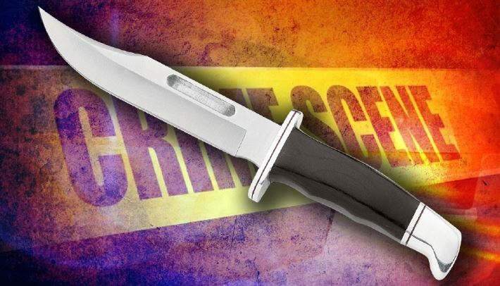 Woman stabbed, admitted to hospital