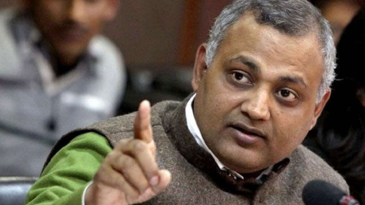 Court frames charges against ex-minister Somnath Bharti