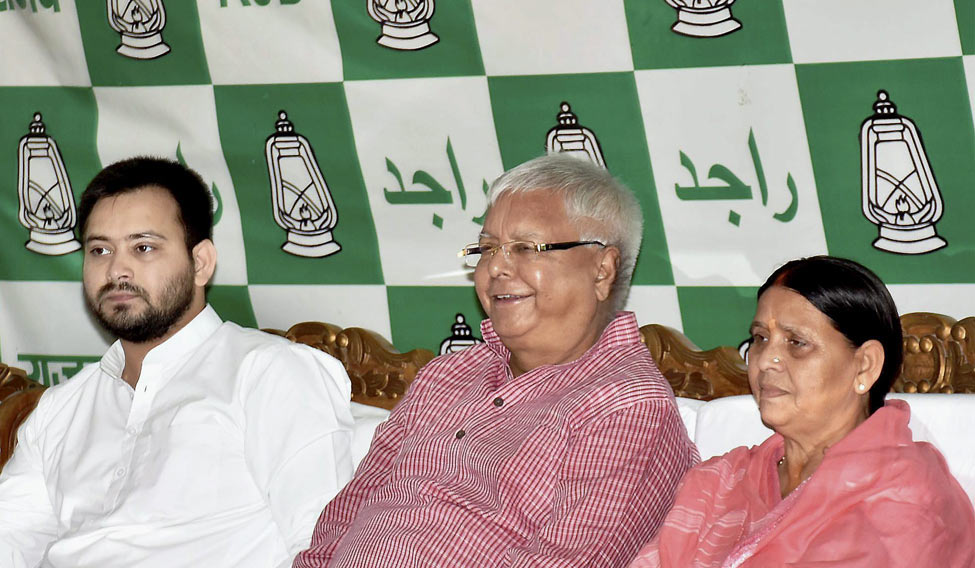 Court summons to Lalu Prasad, Rabri Devi ,and Tejashwi over IRCTC Hotels Maintenance Contract Case