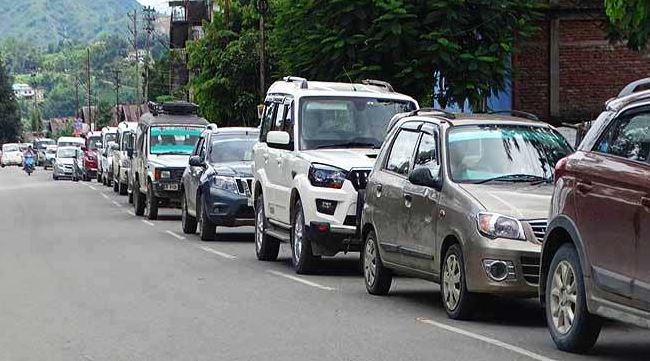 New Traffic arrangements in Shillong