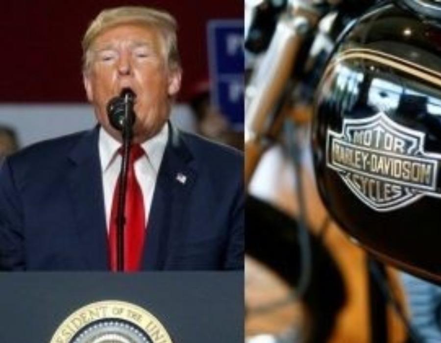 US President Donald Trump endorses boycott against Harley-Davidson
