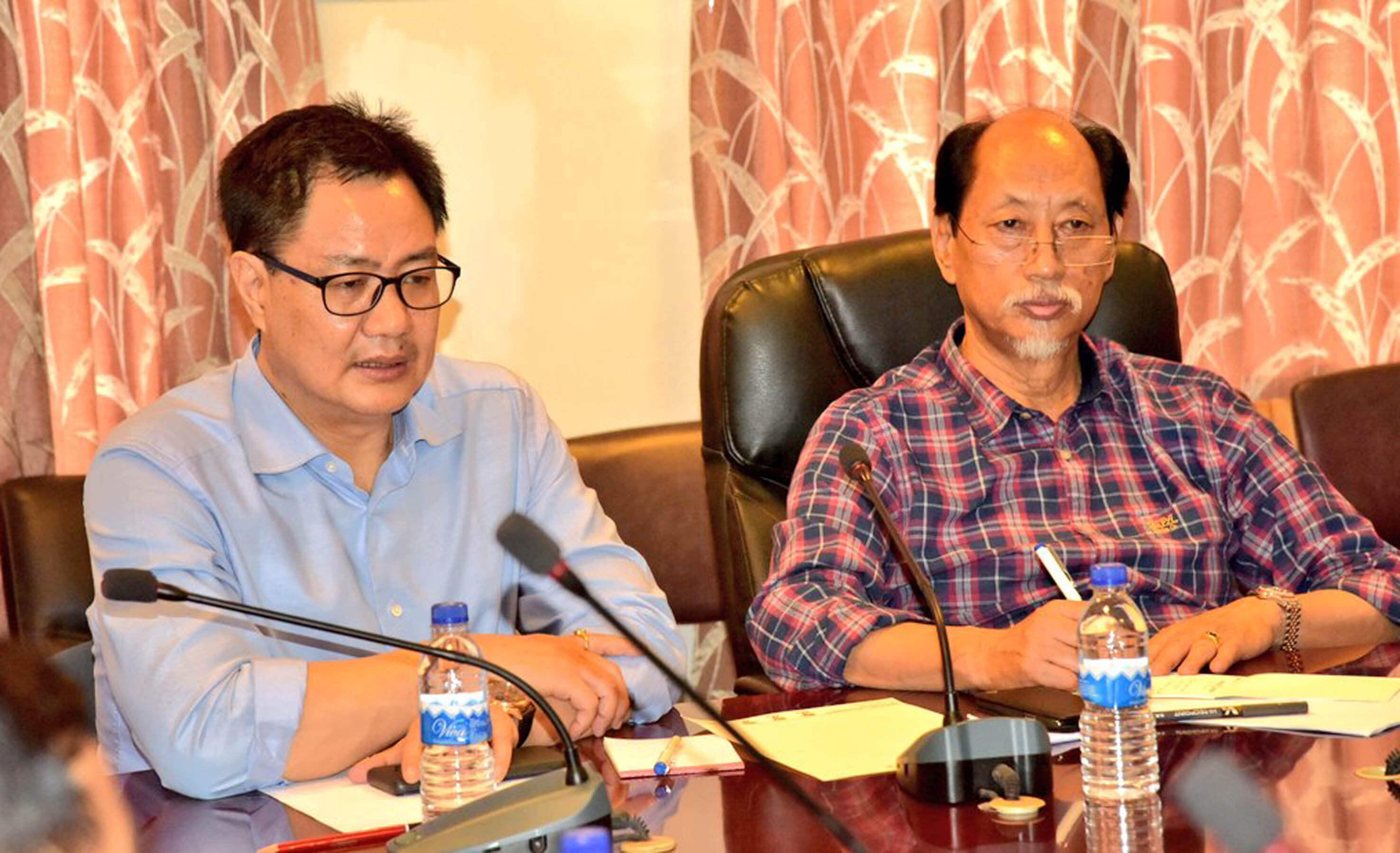 Minister of State for Home Kiren Rijiju, Nagaland CM Neiphiu Rio Fail To Conduct Aerial Survey