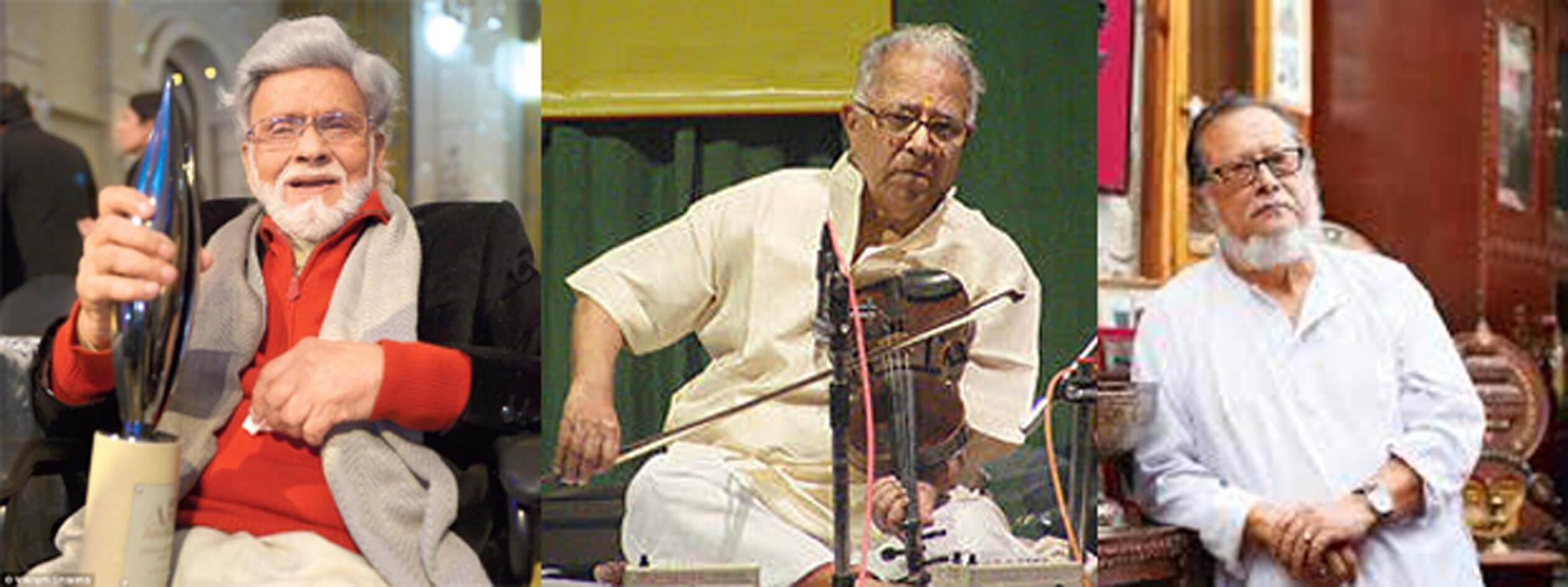 Venkaiah Naidu Presents Lifetime Achievement Awards to Art, Music, Theatre Icons