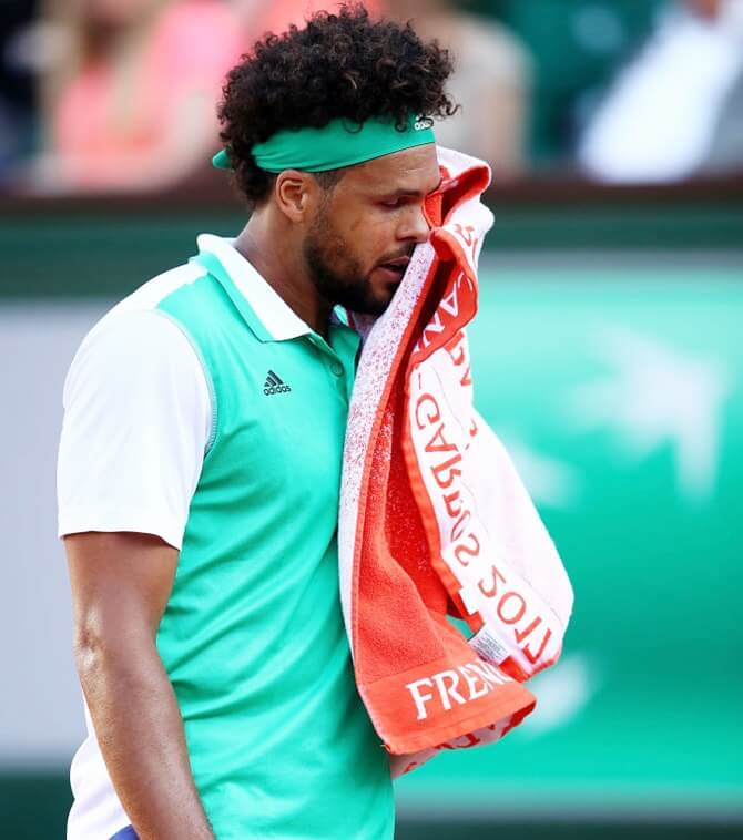 French tennis player Jo-Wilfried Tsonga to miss US Open with knee injury