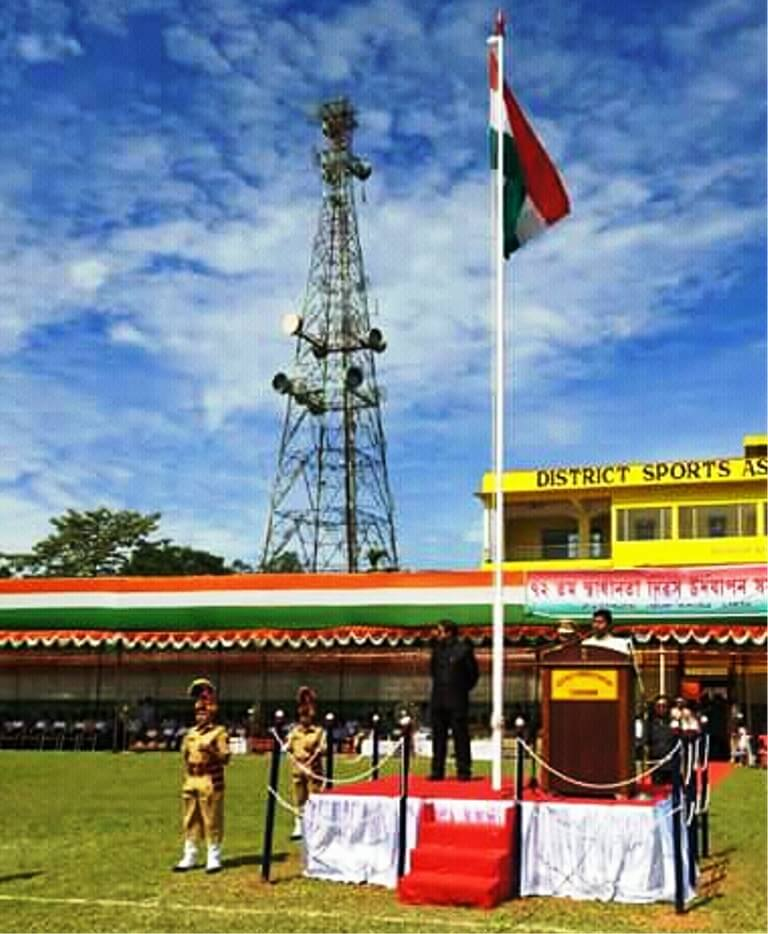 72nd Independence Day celebrated with gaiety at Silchar