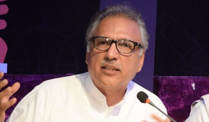 India is playing with fire in Kashmir: Pakistan President Arif Alvi