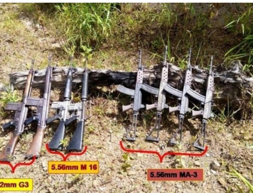 Serchhip Battalion of Assam Rifles Seize Illegal Weapons in Mizoram