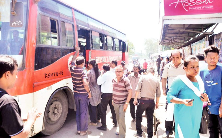 24 Hour Nationwide Strike's Impact Partial in Guwahati
