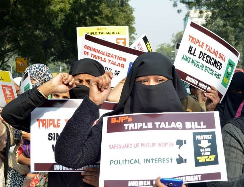 Cabinet approves provision of bail in triple talaq bill