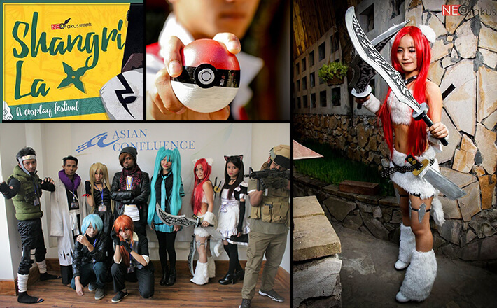 Cosplay festival colourful, better this year, Shillong