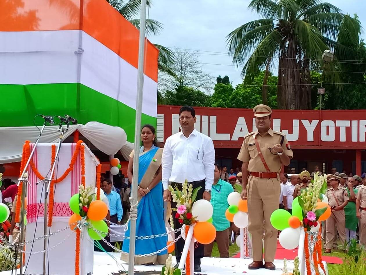 72nd Independence Day Celebrated Across State