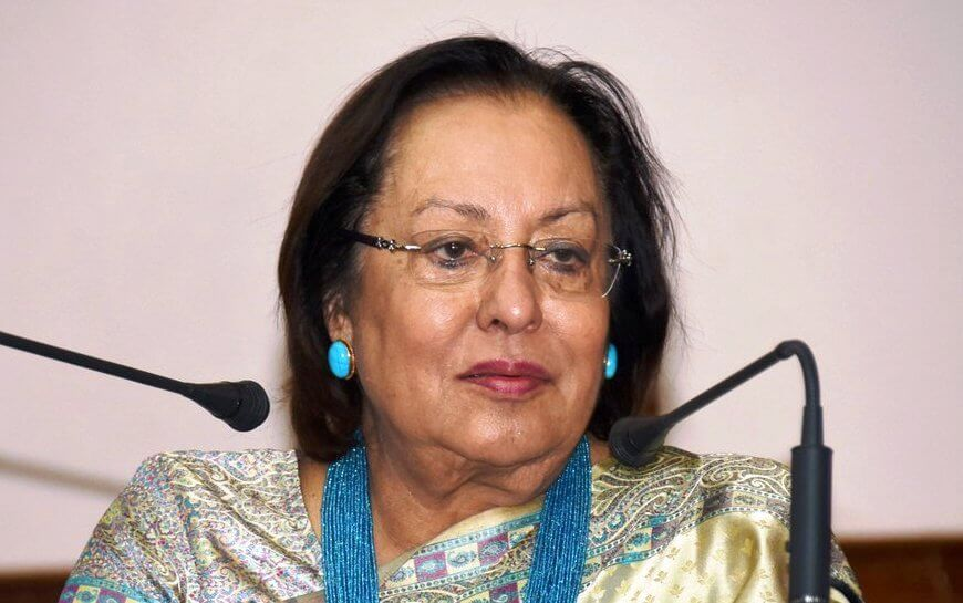 Najma Heptulla to cast her vote in Imphal