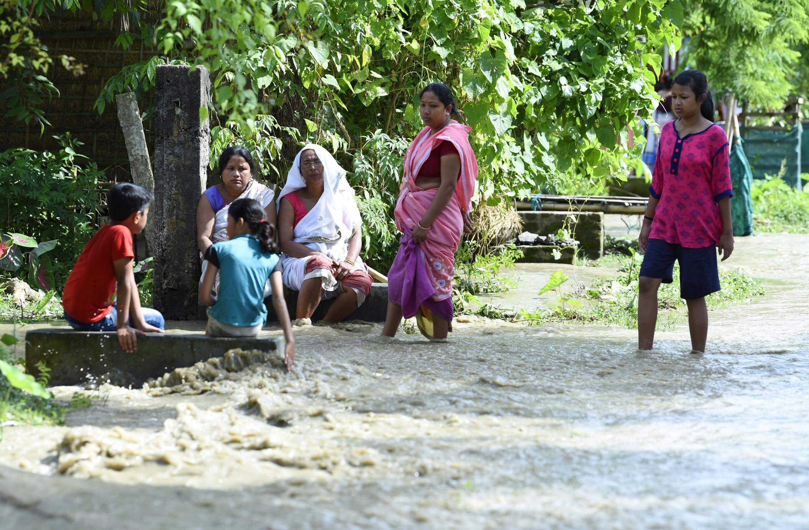 Flood Situation Still Grim in Sivasagar, Assam