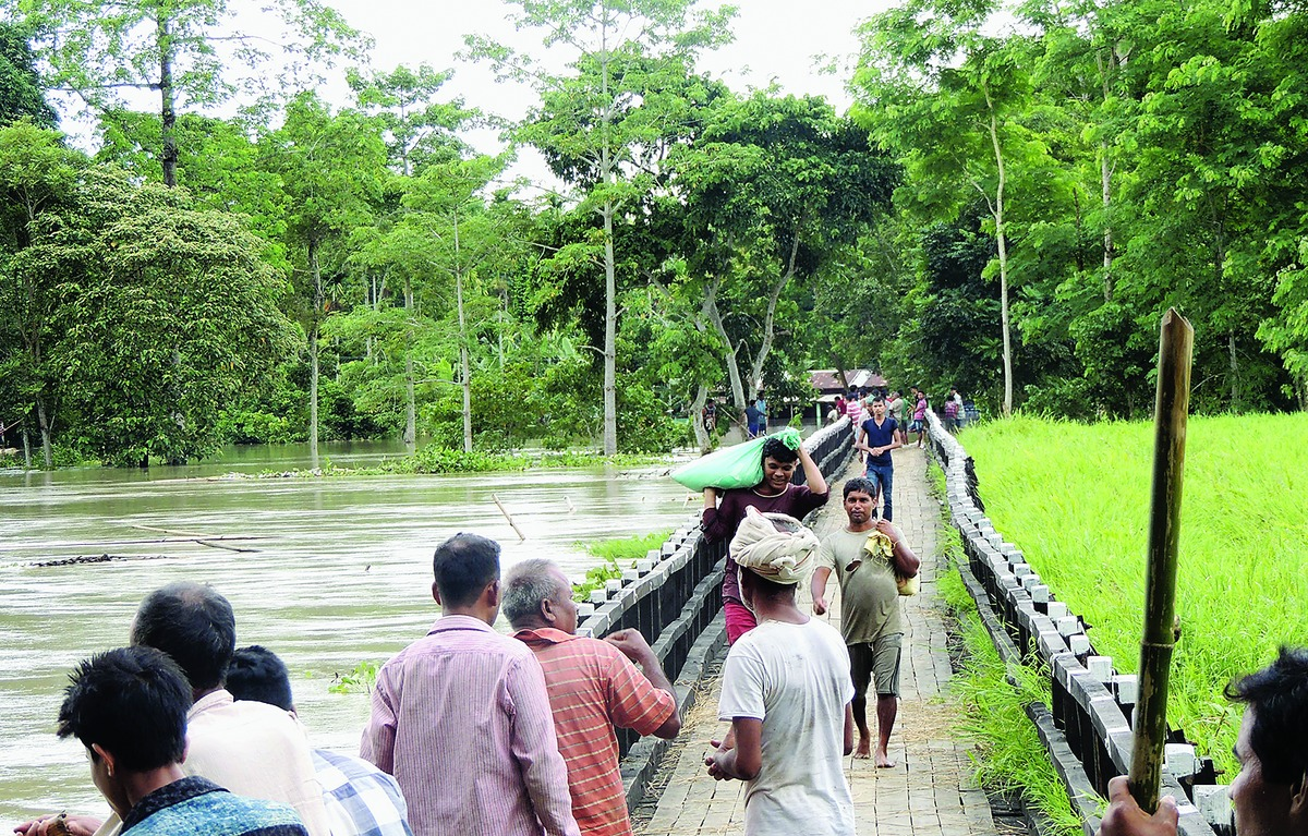 Golaghat Deputy Commissioner reviews flood relief operations