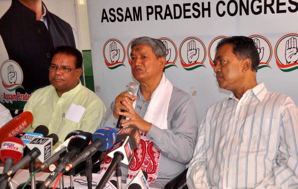 BJP Hits Back at APCC Assam In-charge Harish Rawat