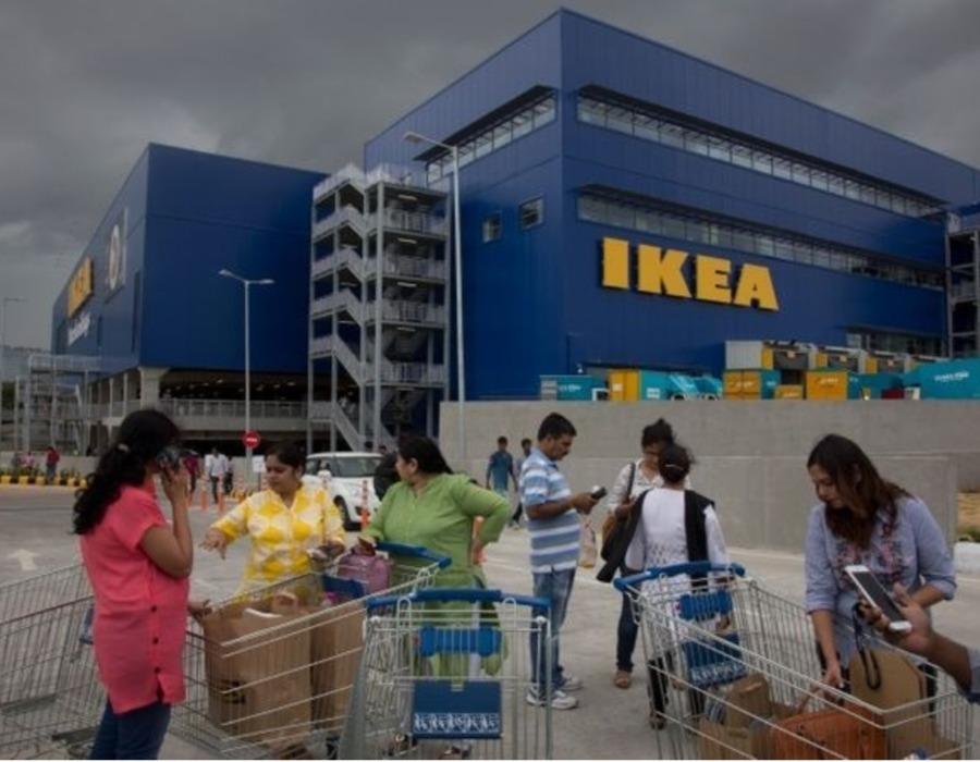 IKEA Hyderabad Store Attracted 40000 Customers on Its Opening Day