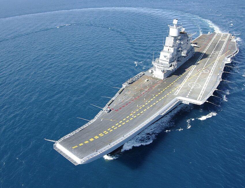 INS Vikramaditya to be have marine hydraulic systems