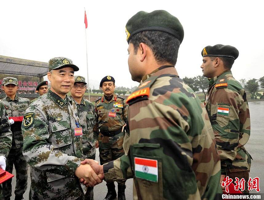 Indian, Chinese Troops Hold Ceremonial Border Meeting in Srinagar