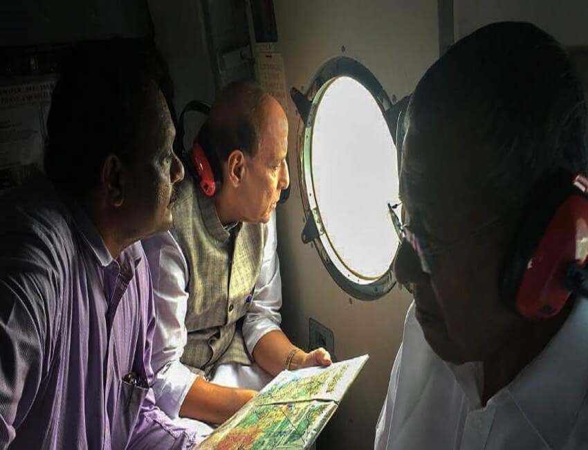 Kerala flood situation very serious, says Rajnath Singh