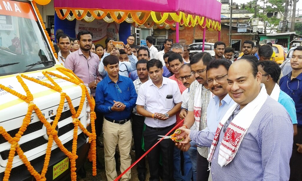 Mobile health services launched, Silchar