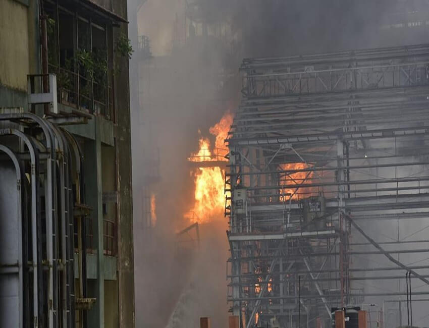 43 injured in fire at Bharat Petroleum plant near Mumbai