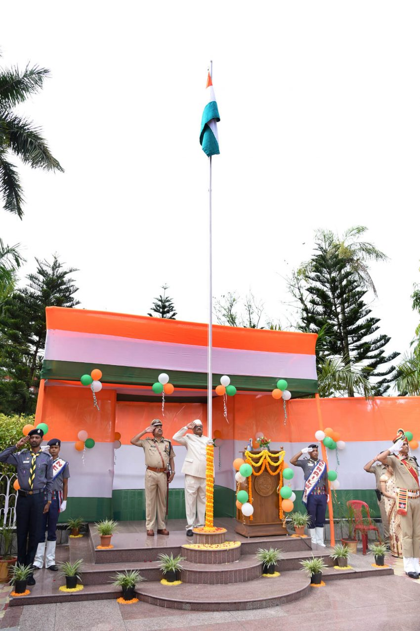 Northeast Frontier Railway Celebrates 72nd Independence Day