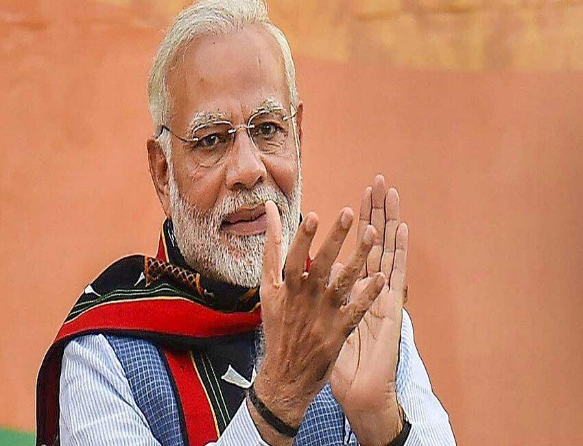 PM Narendra Modi inaugurates Varanasi Port