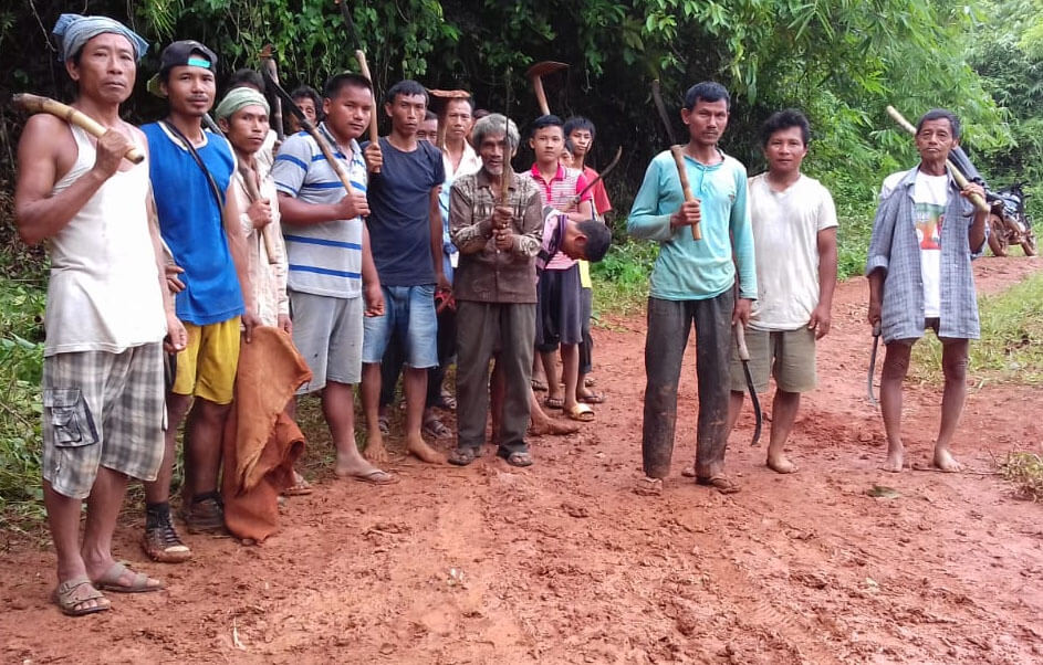Poor road condition causes resentment in Karbi Anglong