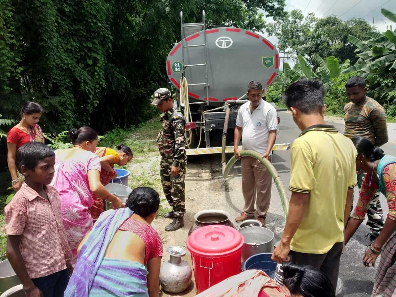 Potable Drinking Water Scarcity in Udalguri, Assam